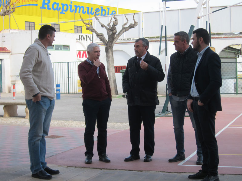 Photo of #Novelda: Piden ayudas a la Diputación para mejorar las instalaciones deportivas municipales