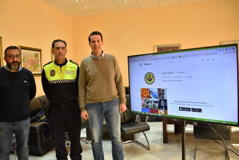 Photo of #Elda: La Policía Local ya está en Facebook e Instagram