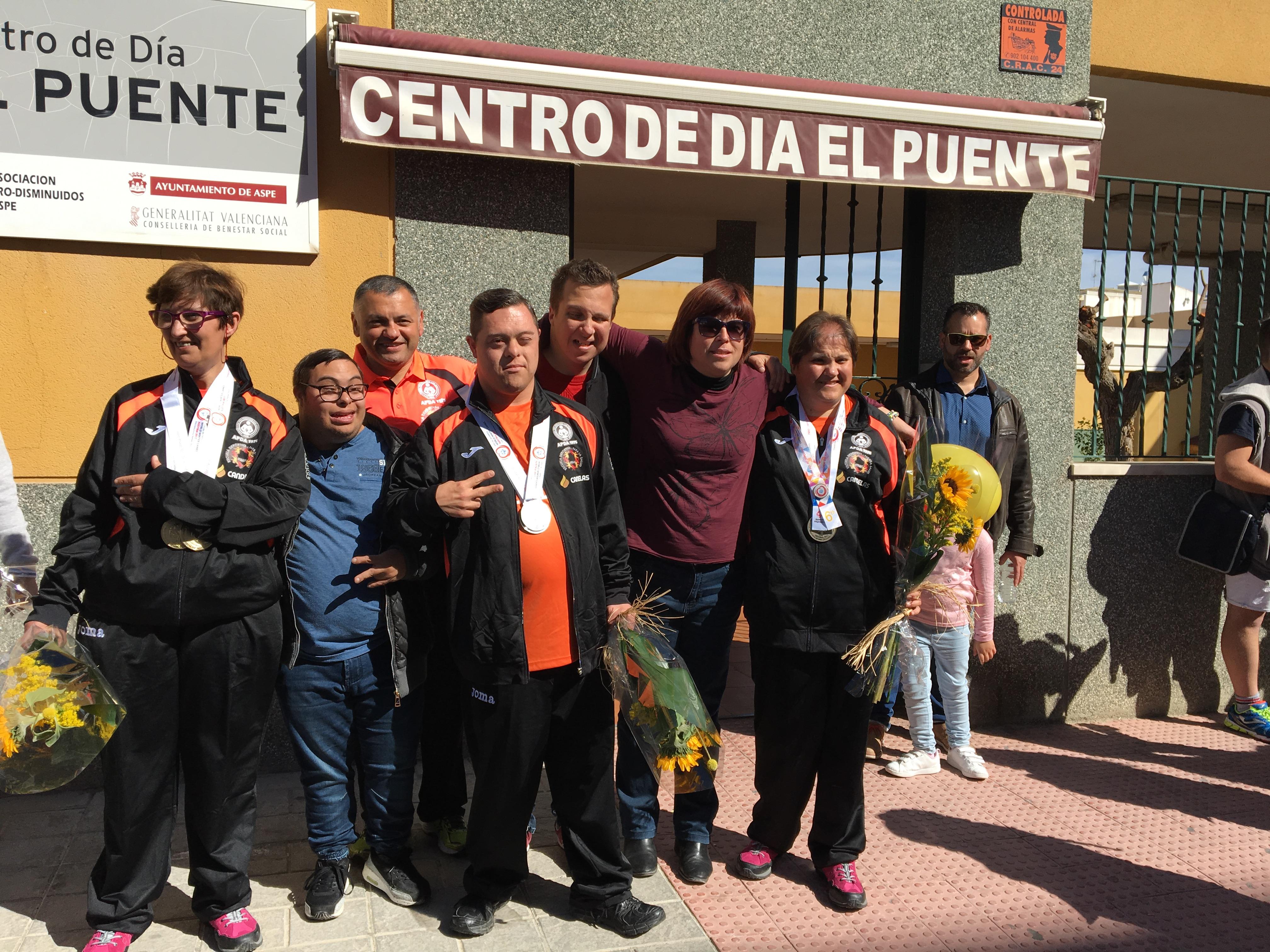 Photo of #Aspe: Special Olympics 2017 Llegada al Centro de Día El Puente