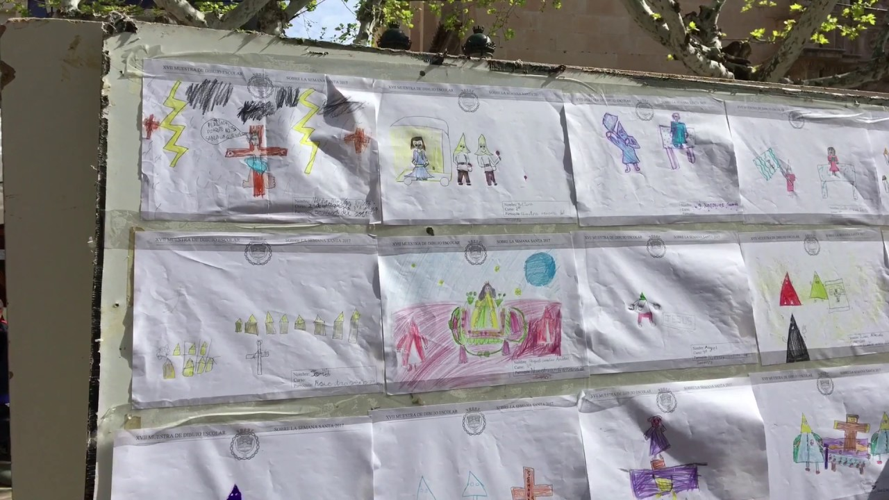 Photo of #Aspe: Muestra de dibujo de Semana Santa