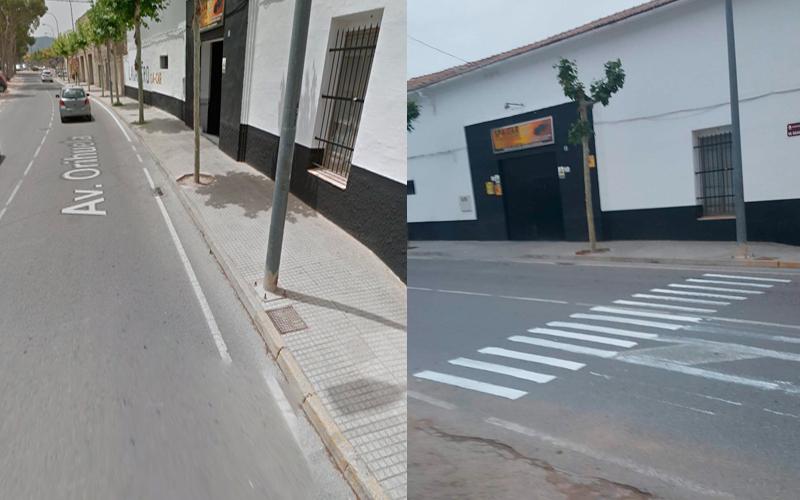 Photo of #Aspe: Pintan un paso de cebra en el lugar del atropello de un niño de 10 años