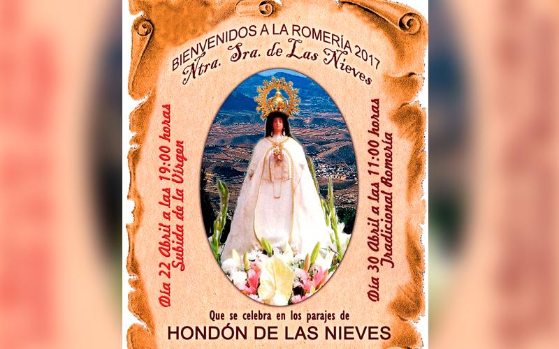 Photo of #Hondón de las Nieves: Romería de la Virgen de las Nieves por los parajes de Hondón