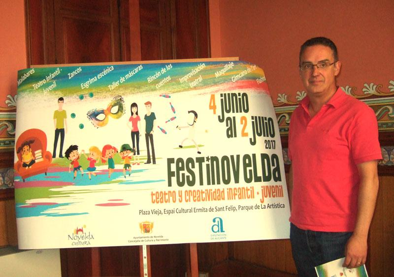 "Photo of #Novelda: ""Festinovelda"" acerca el teatro al público infantil y juvenil"