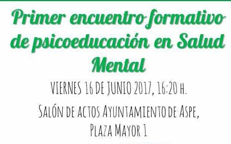 Photo of #Aspe: I Encuentro Formativo de Psicoeducación en Aspe