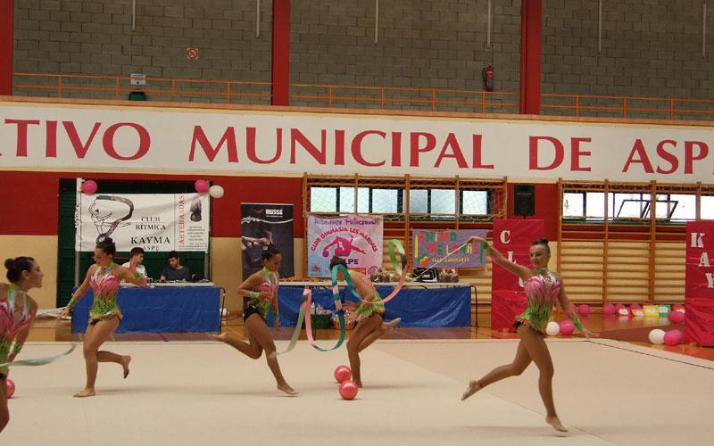 Photo of #Aspe: El Club Gimnasia Rítmica Kayma participa en el Campeonato de España