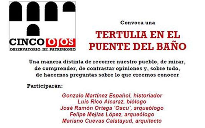 Photo of #Aspe: Cinco Ojos Aspe organiza una tertulia en el Puente El Baño