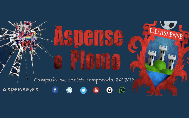 "Photo of #Aspe: ""¿Aspense o plomo?"", eslogan de la UD Aspense para captar socios en Aspe"