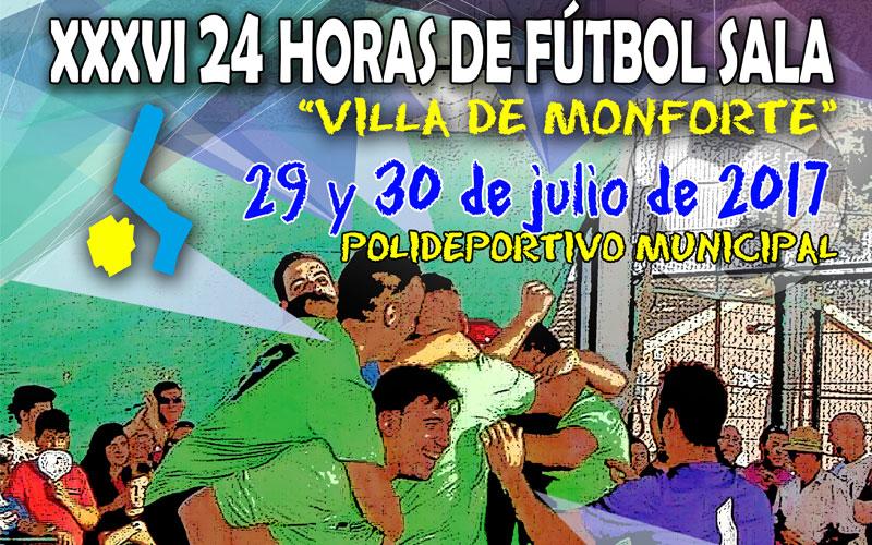 Photo of #Monforte: 4.682 euros de la Diputación para celebrar las XXXVI 24 horas de Fútbol Sala de Monforte
