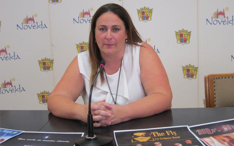 Photo of #Novelda: Hortensia Pérez presenta las actuaciones musicales en fiestas de Novelda