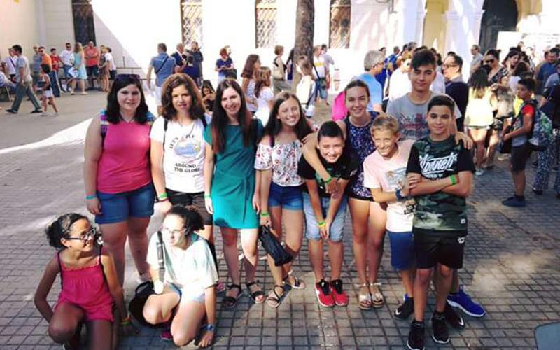 Photo of #Aspe: Alumnos de la Sociedad Musical La Esperanza de Aspe en la colonia Ad Ilibitum