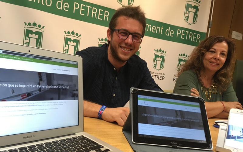 Photo of #Petrer: Los vecinos votarán por primera vez los cursos de formación que quieren en Petrer