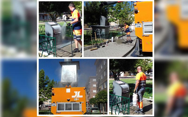 Photo of #Petrer: Limpieza exhaustiva de los contenedores soterrados de Petrer para evitar malos olores