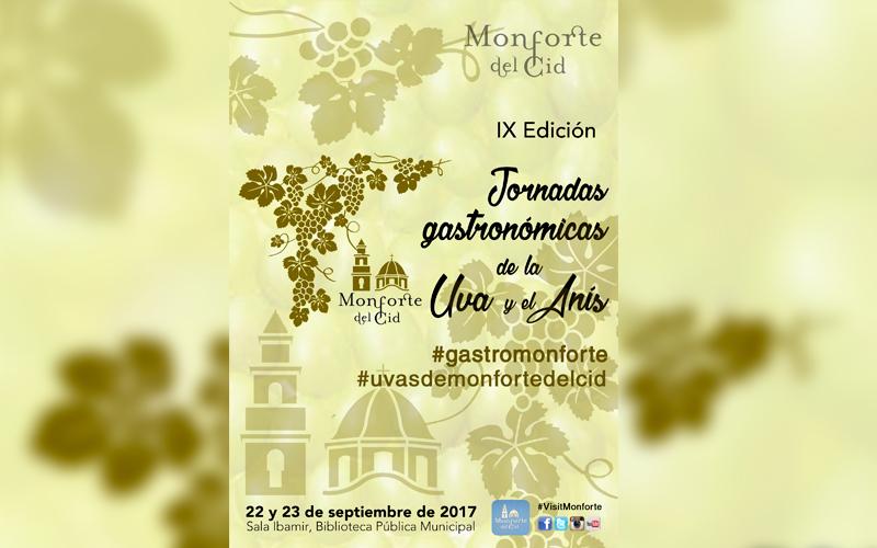 Photo of #Monforte : Jornadas Gastronómicas de la uva y el anís
