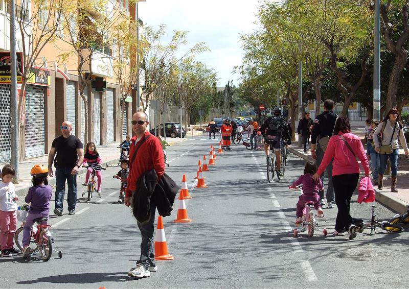 Photo of #Aspe: La Ciclovía vuelve al barrio de la Coca de Aspe