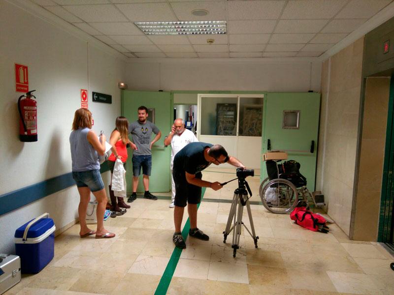 Photo of #Elda: Ruedan un mediometraje en el Hospital de Elda