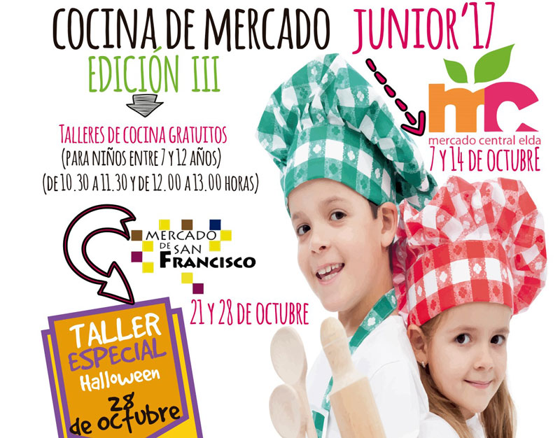 Photo of #Elda: Vuelve el taller Cocina de Mercado Jr.