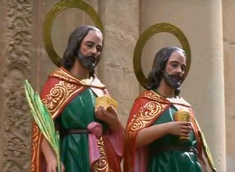 Photo of #Aspe: Fiestas en la calle Santos Médicos de Aspe