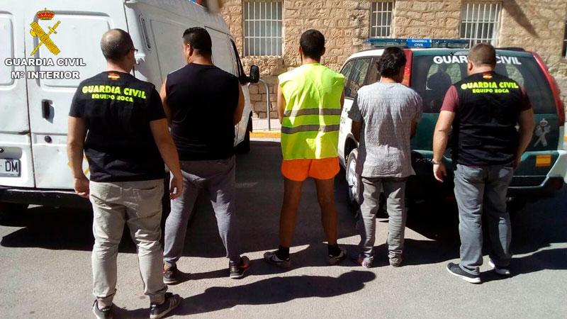 Photo of #Agost: Detienen a tres personas por sustraer 46.000 kilos de material de obra