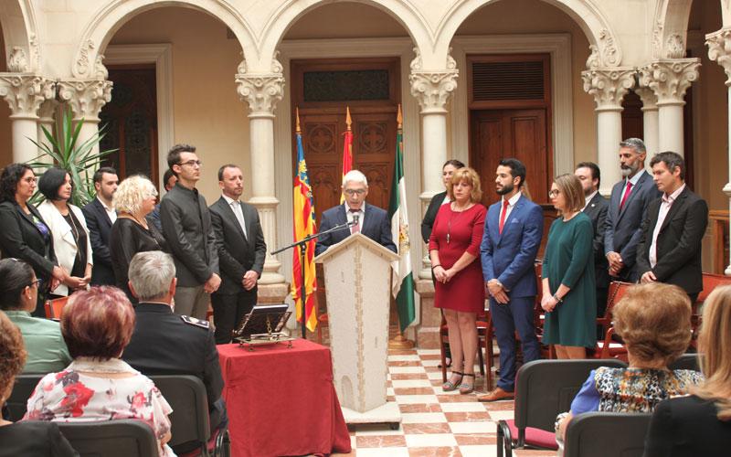 Photo of #Novelda: El alcalde defiende la soberanía nacional en el Día de la Comunitat Valenciana