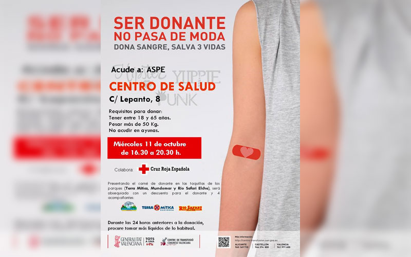 Photo of #Aspe: 581 donaciones de sangre en las 18 colectas de 2017 en Aspe