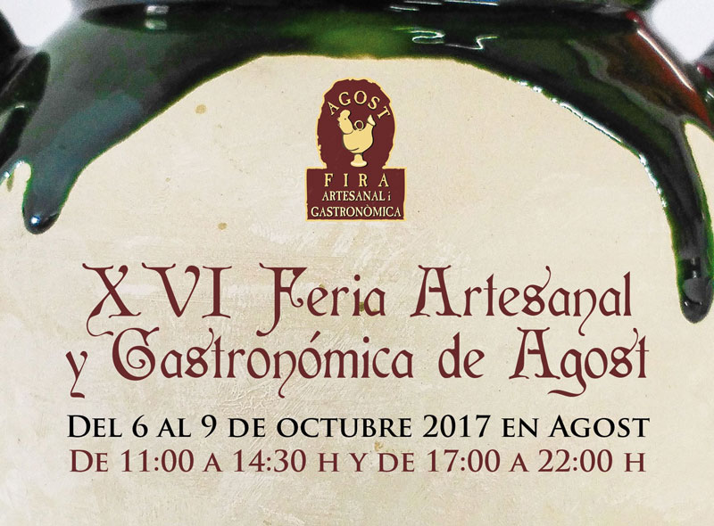 Photo of #Agost: XVI Feria Artesanal y Gastronómica de Agost
