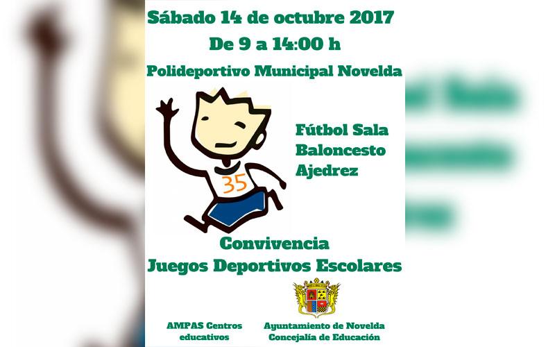 Photo of #Novelda: Los Juegos Deportivos Escolares comienzan con una jornada de convivencia