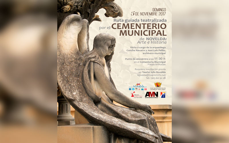 Photo of #Novelda: Turismo organiza una ruta teatralizada al cementerio  de Novelda