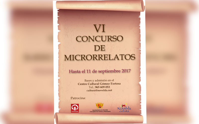Photo of #Novelda: Finalistas del VI Concurso de Microrrelatos