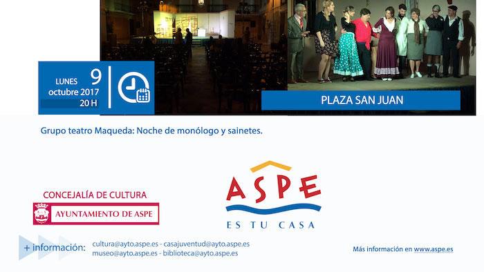 Photo of #Aspe: Fin de semana repleto de actividades culturales y juveniles