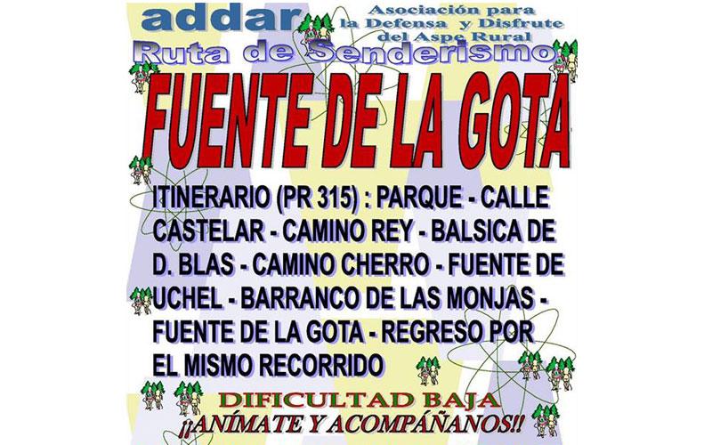 Photo of #Aspe: ADDAR visita la Fuente de la Gota