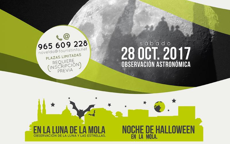 Photo of #Novelda: Observación lunar y visita nocturna en La Mola de Novelda
