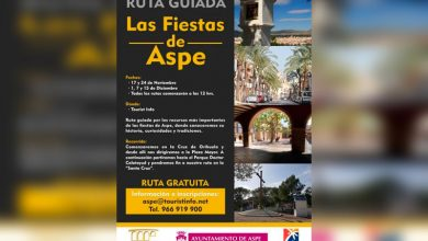 "Photo of #Aspe: Ruta guiada ""Las fiestas de Aspe"""