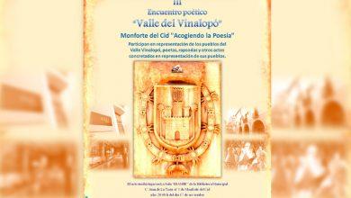 """Photo of #Monforte: III Encuentro poético Valle del Vinalopó """"Monforte del Cid Acogiendo la Poesía"""""""
