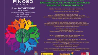 """Photo of #Pinoso acoge el """"Encuentro de Mujeres Rurales: Redes de Transferencia"""""""