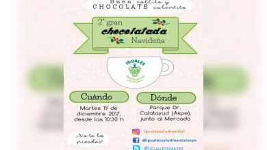 Photo of #Aspe: Chocolatada de Iguales Salud Mental