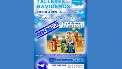 Photo of #Monforte: El PP monfortino vuelve a organizar talleres navideños