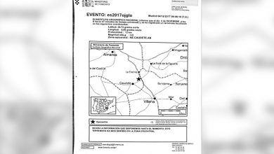 Photo of #Villena: El terremoto con epicentro en Caudete no causa daños de consideración en Villena