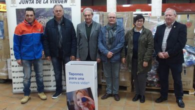 Photo of #Villena: 5.000 kilos  de tapones para Izan