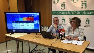 Photo of #Petrer ofrecerá la información meteorológica del municipio a través de una web