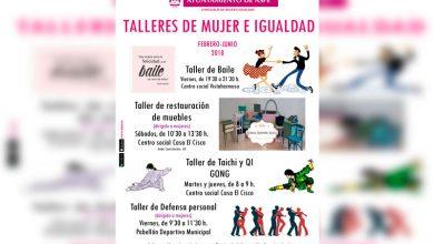 Photo of #Aspe: Mujer e Igualdad organiza talleres de defensa personal, restauración de mueble, baile y taichí