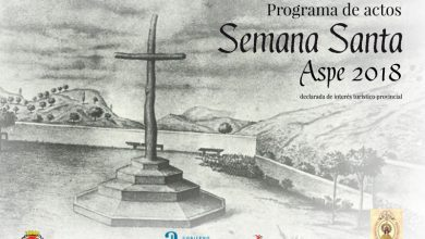 Photo of #Aspe: Programa de actos Semana Santa 2018