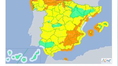 Photo of #Aspe: Alerta amarilla por fuertes vientos este sábado