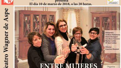 """Photo of #Aspe: El Grupo de Teatro Maqueda ofrece """"Entre Mujeres"""""""