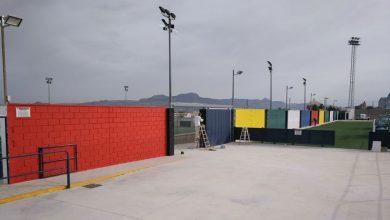 Photo of #Aspe: Deportes realiza trabajos de mejora en la pintura de sus instalaciones