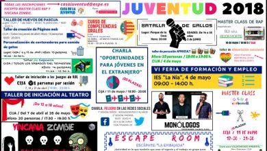 Photo of #Aspe: Yincana Zombi y otras actividades de Juventud para abril, mayo y junio