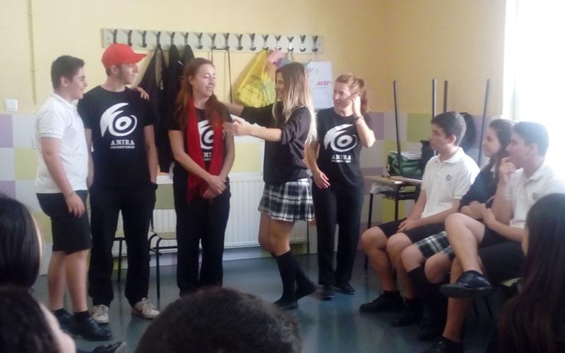 Aspe: Tercero y Cuarto de ESO del colegio Virgen de las Nieves ...