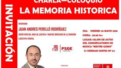 Photo of #Novelda: Charla sobre Memoria Histórica organizado por el PSOE