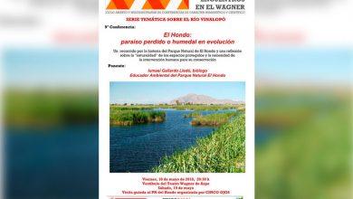 """Photo of #Aspe: Conferencia sobre """"El Hondo: paraíso perdido o humedal en evolución"""""""