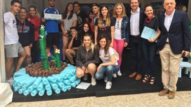Photo of #Aspe: 1º de BAC y 2º de FP del IES Villa de Aspe ganan el concurso de escultura creativa