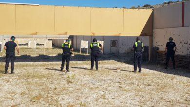 Photo of #Elda: La Policía Local realiza prácticas de tiro